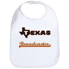 Texas Broadcaster Bib