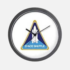 Cute Nasa space shuttle Wall Clock