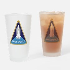 Cute Nasa logo Drinking Glass
