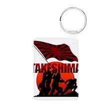 takeshima Aluminum Photo Keychain