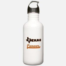 Texas Carver Water Bottle