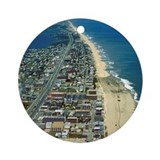 Ocean city maryland Round Ornaments