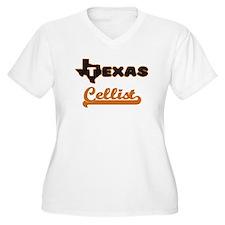 Texas Cellist Plus Size T-Shirt