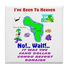 Cool Sand dollar Tile Coaster