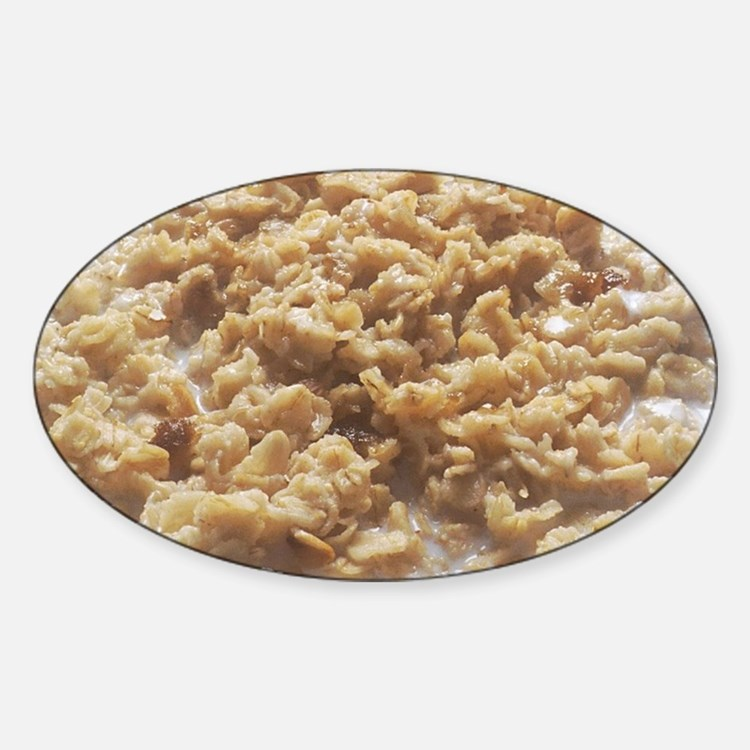 Bowl of Oatmeal Decal