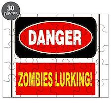 Danger Zombies Lurking Puzzle