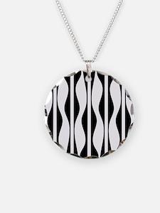 Wavy Stripes Necklace