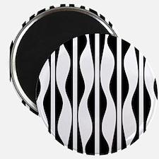 Wavy Stripes Magnets