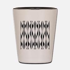 Wavy Stripes Shot Glass