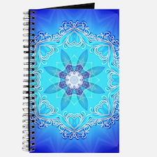 Awesome blue kaleidoskop Journal
