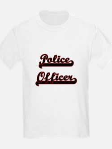 Police Officer Classic Job Design T-Shirt