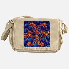 Shiny 3D balls Messenger Bag