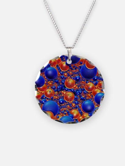 Shiny 3D balls Necklace