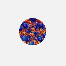 Shiny 3D balls Mini Button