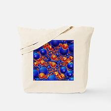 Shiny 3D balls Tote Bag