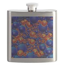 Shiny 3D balls Flask