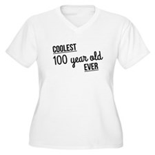 Coolest 100 Year Old Ever Plus Size T-Shirt