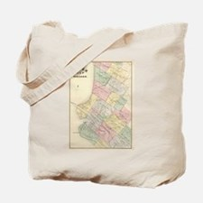 Vintage Map of Oakland California (1878) Tote Bag