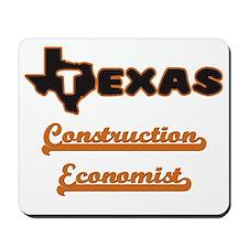 Texas Construction Economist Mousepad