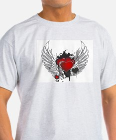 Winged hearts T-Shirt