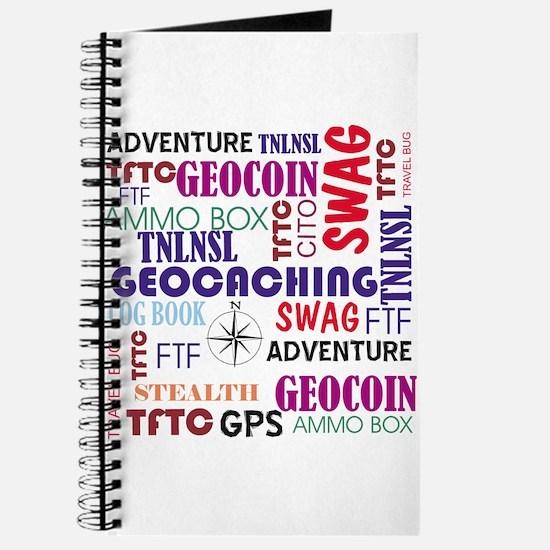 Geocaching Words Journal