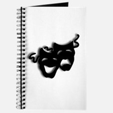 Comedy and Tragedy Theater Masks Journal