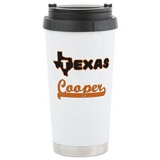 Texas Cooper Travel Mug