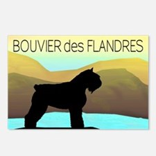 Bouvier By The Sea Postcards (Package of 8)