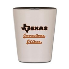 Texas Corrections Officer Shot Glass