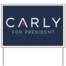 Carly for President Yard Sign