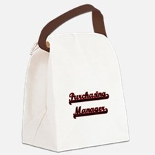 Purchasing Manager Classic Job De Canvas Lunch Bag