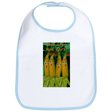 The corn has ears! Bib