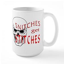 Snitches Get Stitches MugMugs