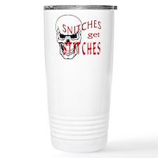 Snitches get Stitches Travel Mug