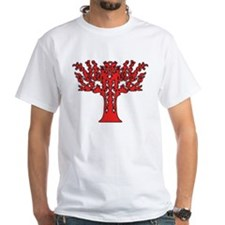 Red Flames Tree of Life Shirt
