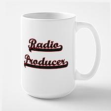 Radio Producer Classic Job Design Mugs