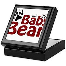 Baby Bear Claw 2014 Keepsake Box