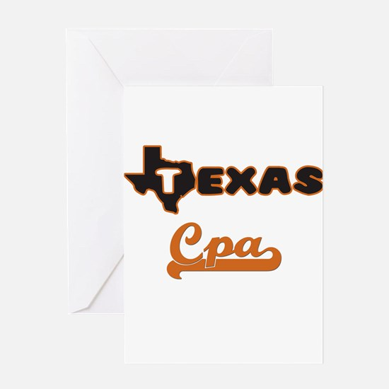 Texas Cpa Greeting Cards