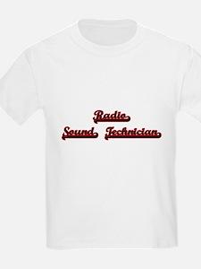 Radio Sound Technician Classic Job Design T-Shirt