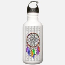 Dreamcatcher Rainbow F Water Bottle