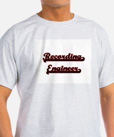 Recording Engineer Classic Job Design T-Shirt