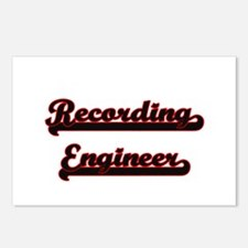 Recording Engineer Classi Postcards (Package of 8)