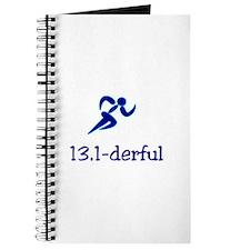 13.1-derful - half marathon Journal