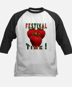 Festival Time ! Kids Baseball Jersey
