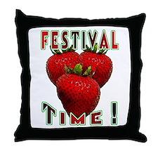 Festival Time ! Throw Pillow