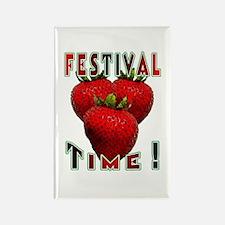 Festival Time ! Rectangle Magnet