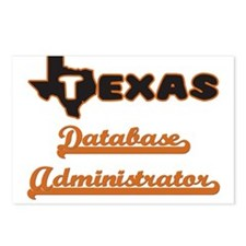 Texas Database Administra Postcards (Package of 8)
