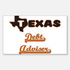 Texas Debt Adviser Decal