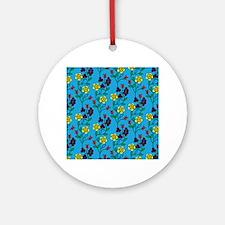 Ojibwe Flowers Ornament (Round)