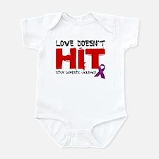 Love Doesn't Hit Infant Bodysuit